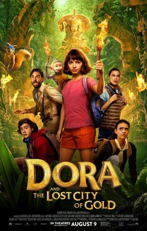 Dora and the Lost City of Gold.2019.720p.WEB-Rip.Castellano